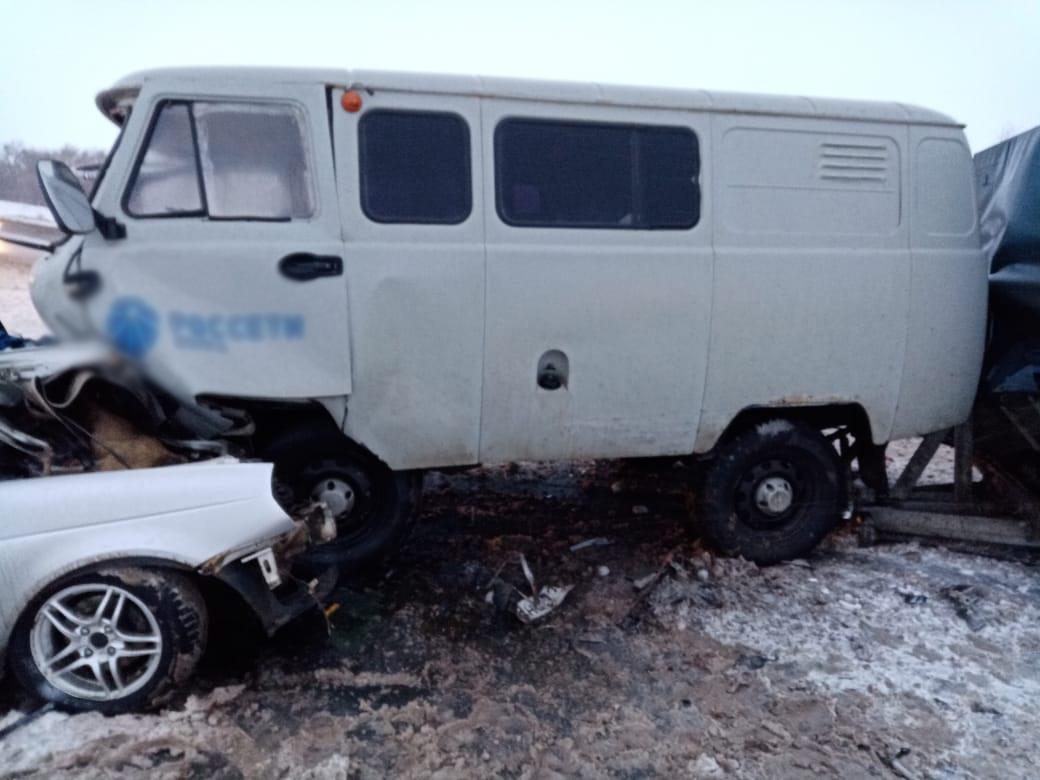 Очень серьезное ДТП произошло под Оренбургом