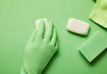 Мыло перчатки